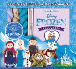 Disney Frozen 5 Characters Crochet Kit